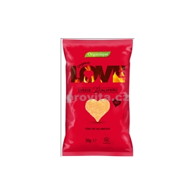 BIO Snack LOVE Cheese-Jalapeno 50g